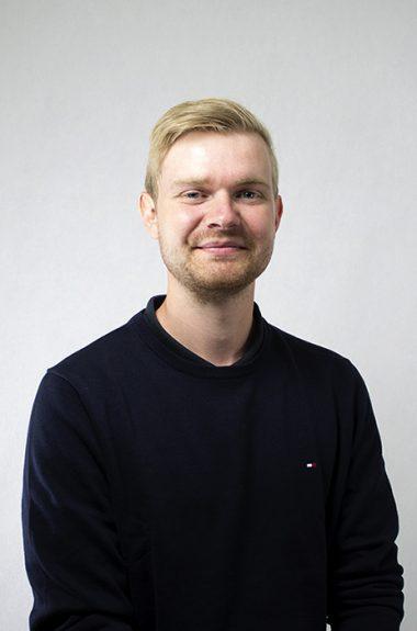 Medarbejder Mads Frederiksen