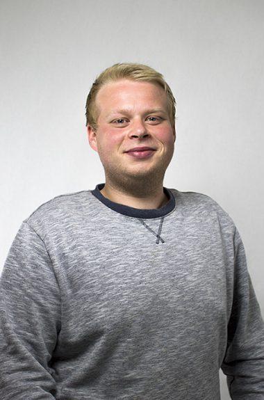 Medarbejder Mikkel Laigaard Mortensen